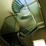 Chateau St Maximin – Glass Roof and Stairs